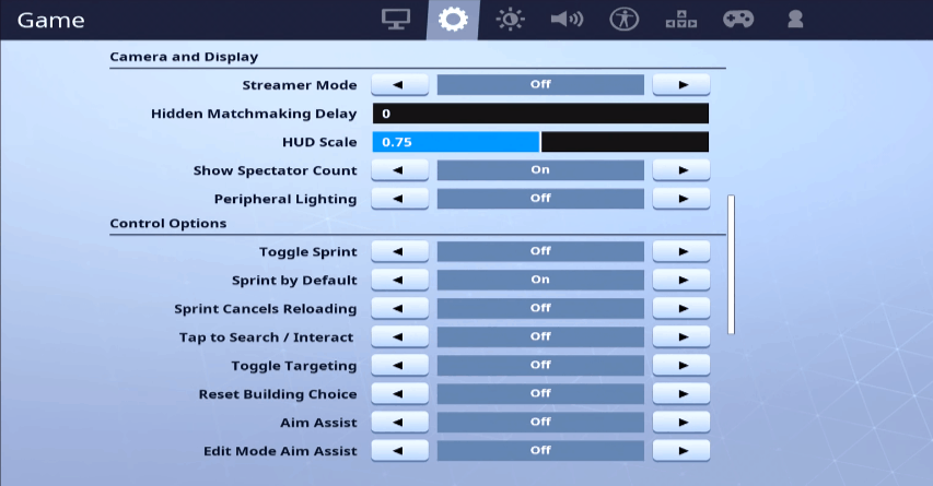 tfue gaming settings 1