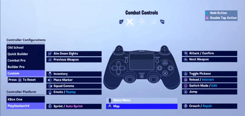 Aydan Combat controls
