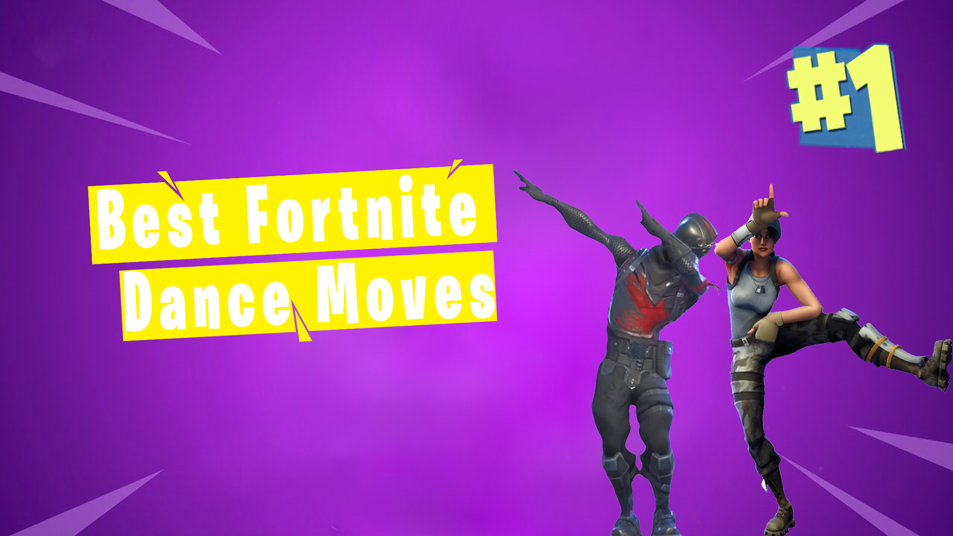 25 Fortnite Dance Moves with their Origin