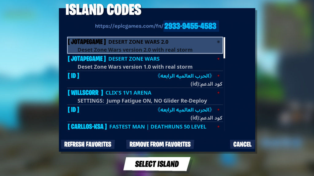 Island Codes