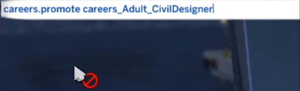 Sims 4 career cheats