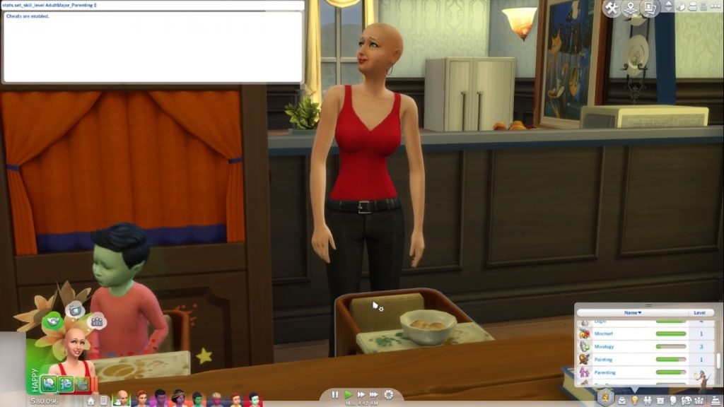sims 4 parenting cheats