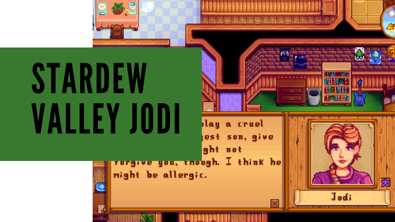 Stardew valley jodi