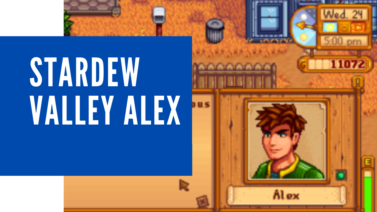 stardew valley alex