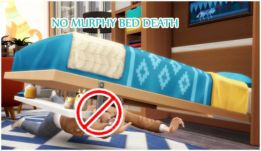 No murphy bed death