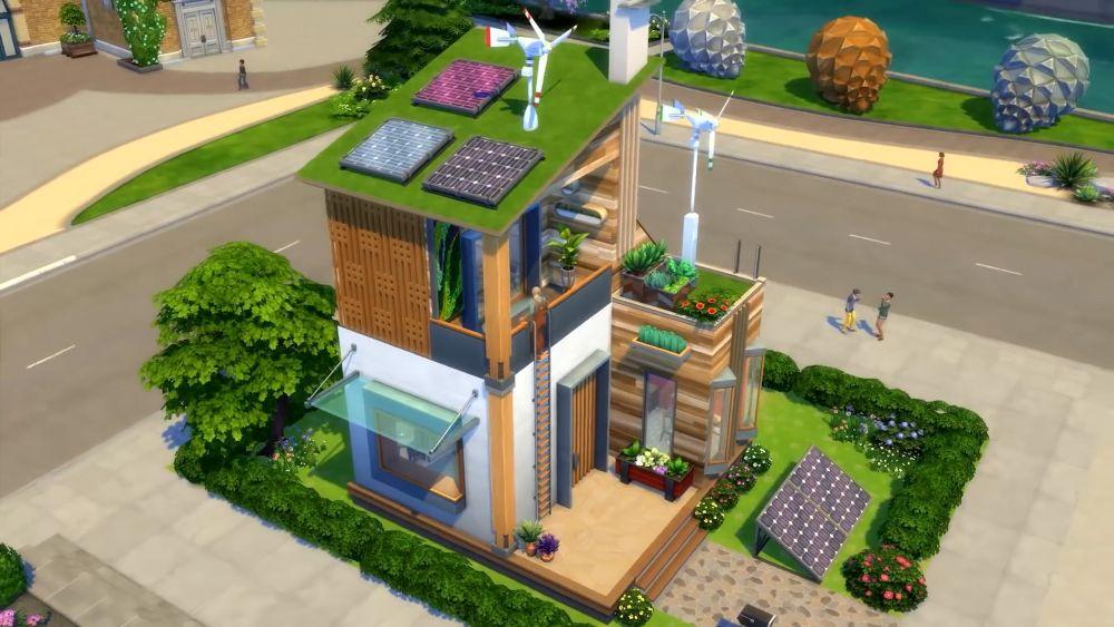 Sims 4 eco prints