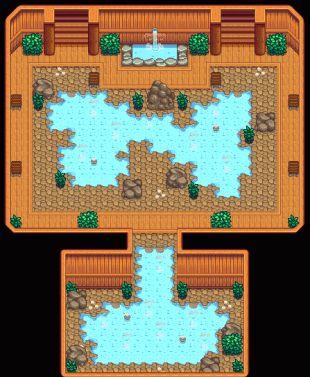 Bathhouse hot spring