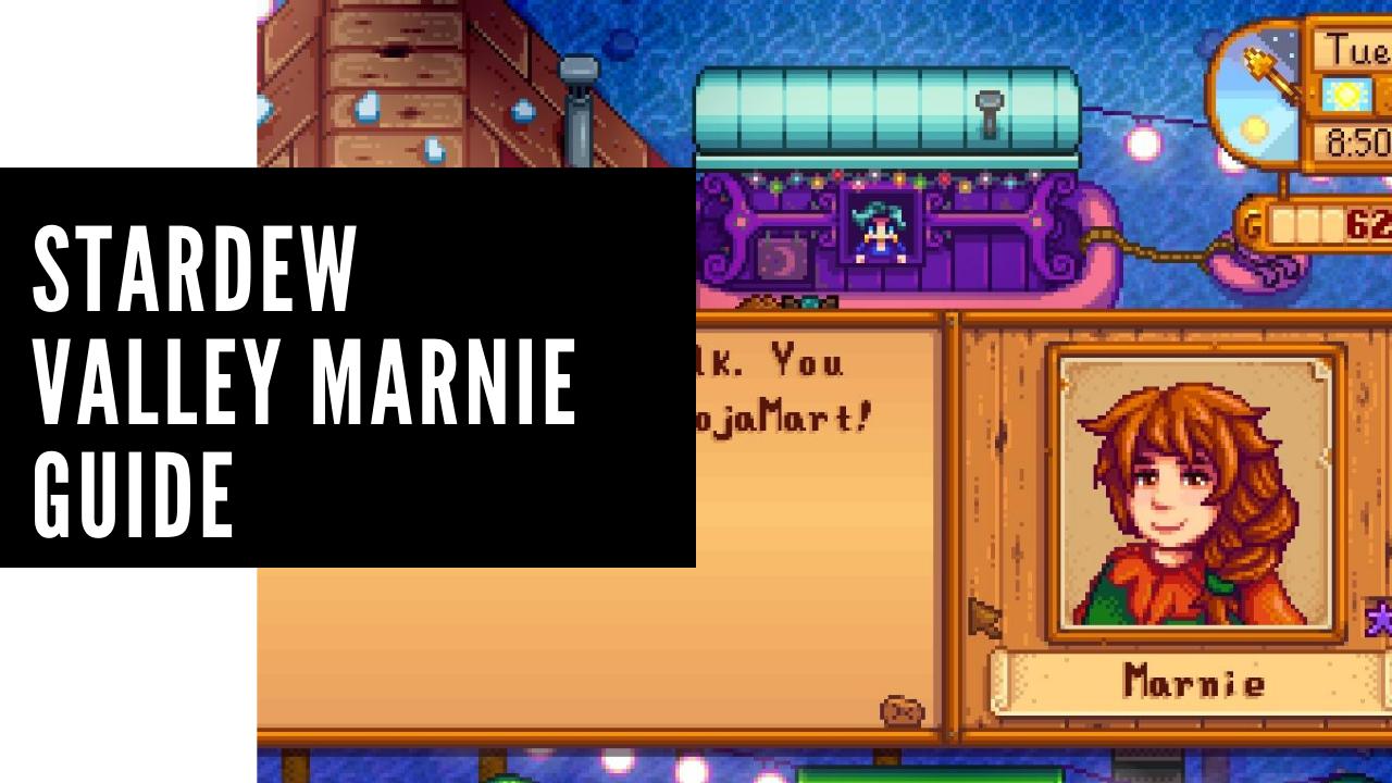 stardew valley marnie