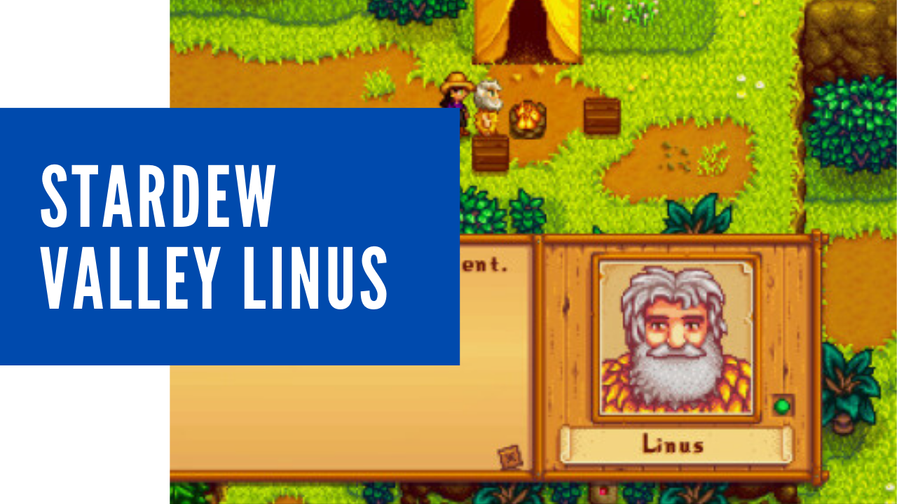 stardew valley linus