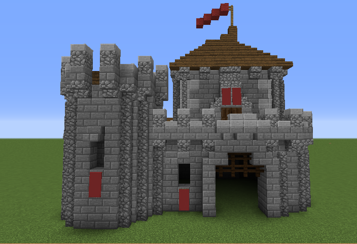Minecraft small castle