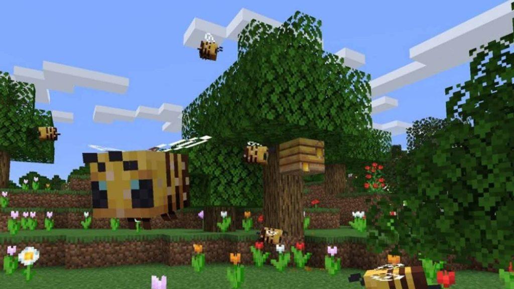 Honey be in minecraft