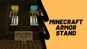 Minecraft armor stand