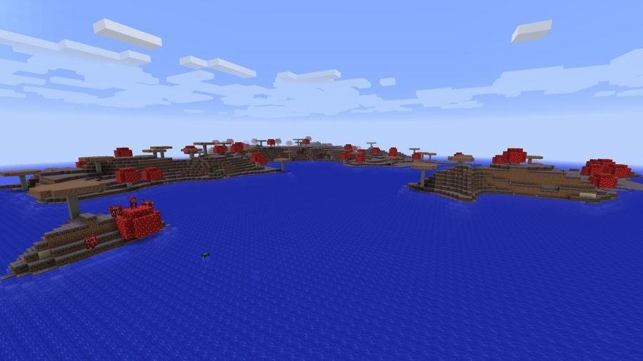 minecraft mooshroom-islands