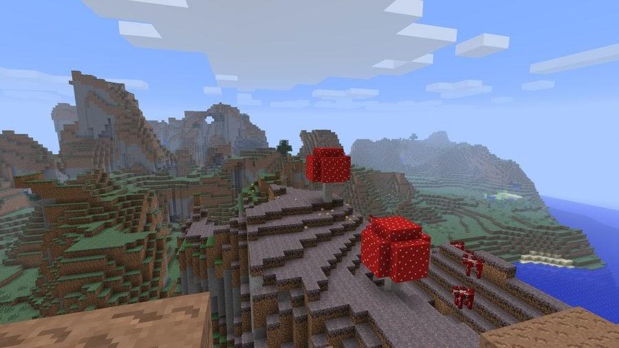 minecraft mushroom kingdom