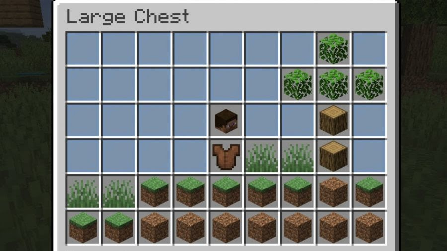 Minecraft playable minecraft chest mod