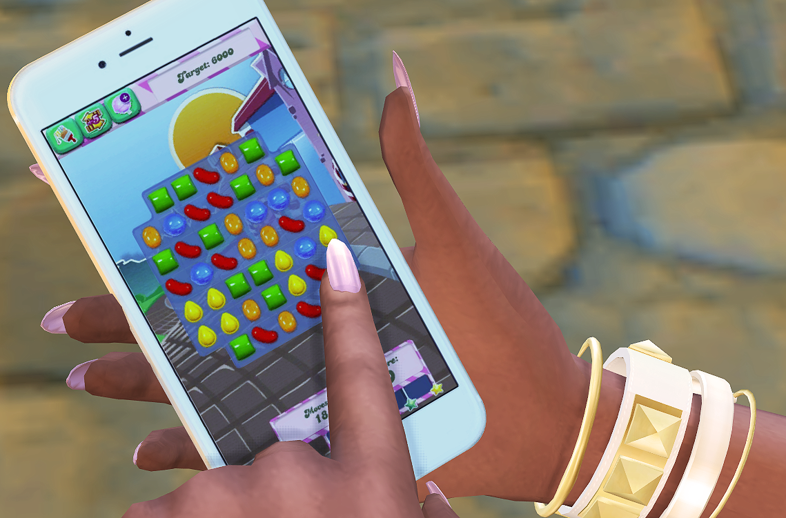 sims can have phone: Thegamedial