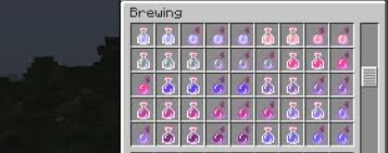Minecraft Brewing Potions