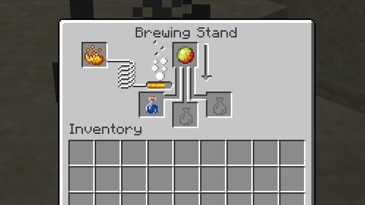 Minecraft Brewing Equipment