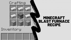 minecraft blast furnace recipe