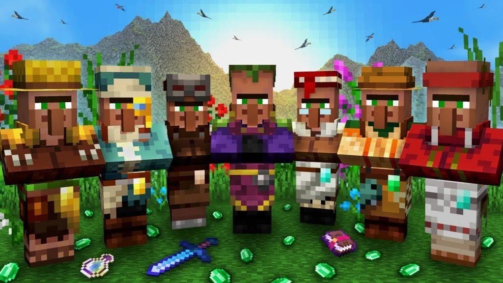 Minecraft villager spawning