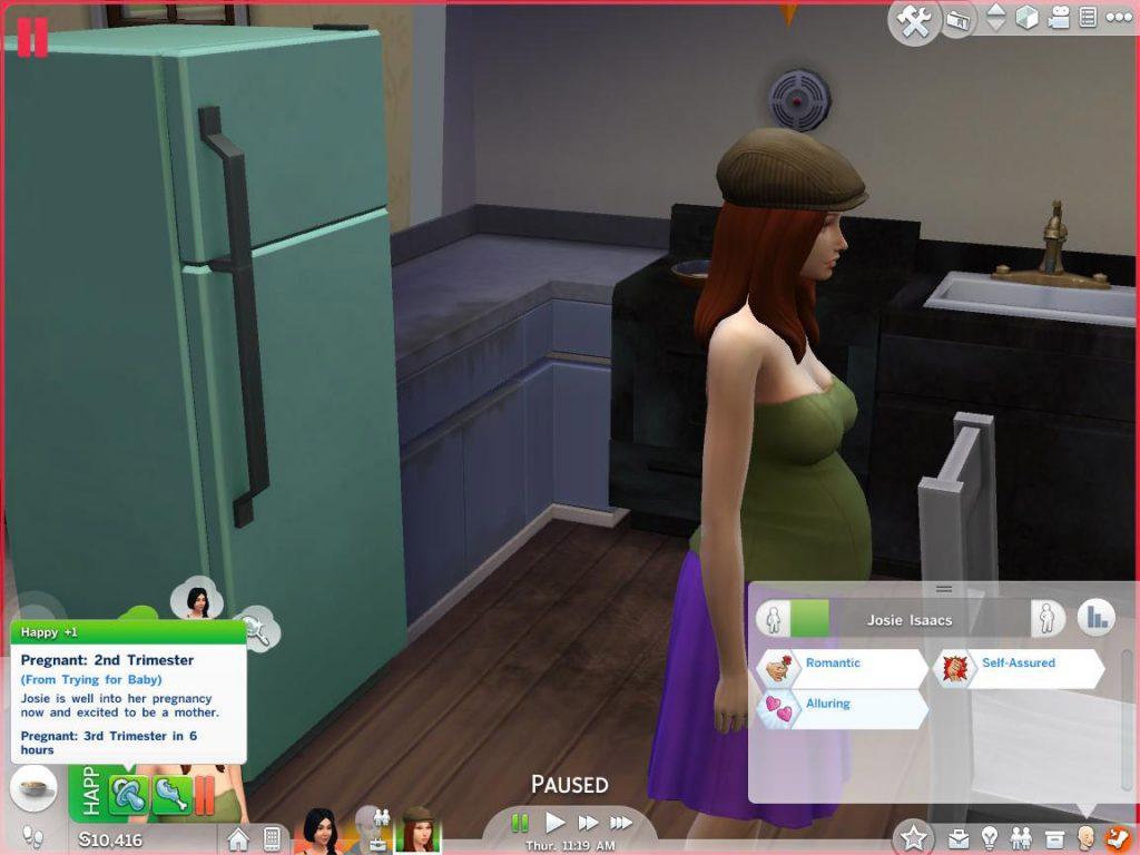Teen Pregnancy mod