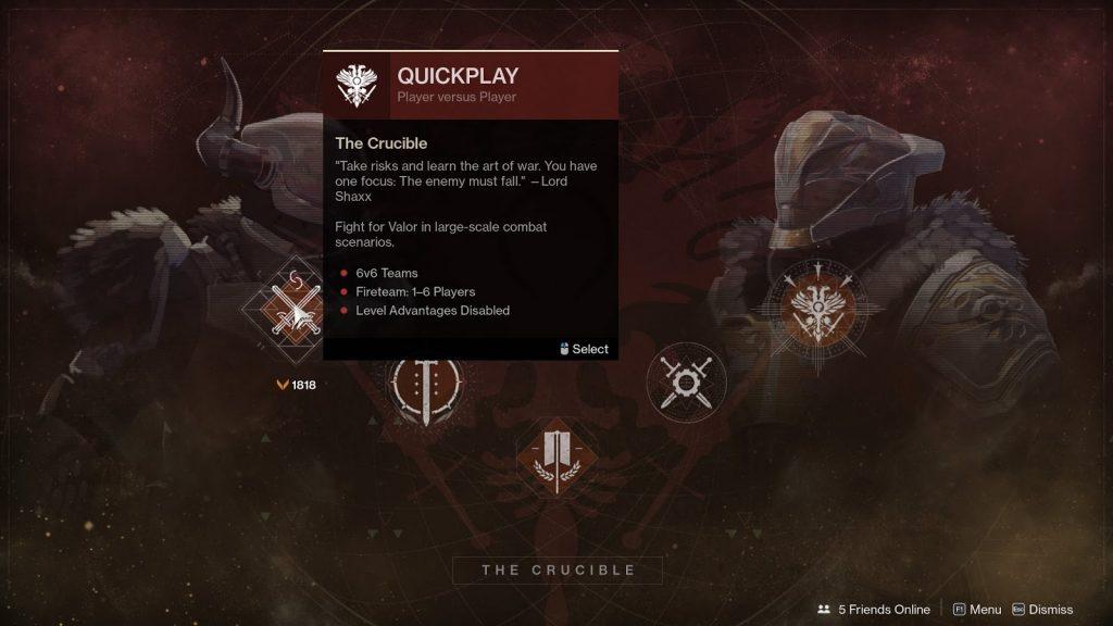 Destiny 2 crucible ranks