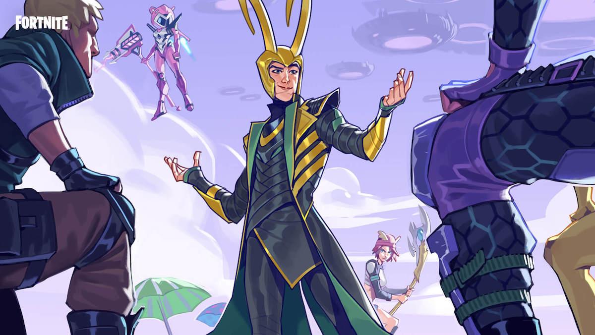 Loki is Fortnite's new playable character
