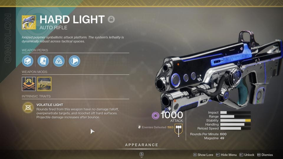 How To Get Hard Light And Its Catalyst, The 'Destiny 2'  Thegamedial