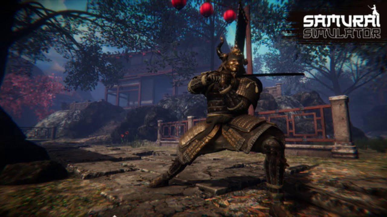 Samurai Simulator gameplay
