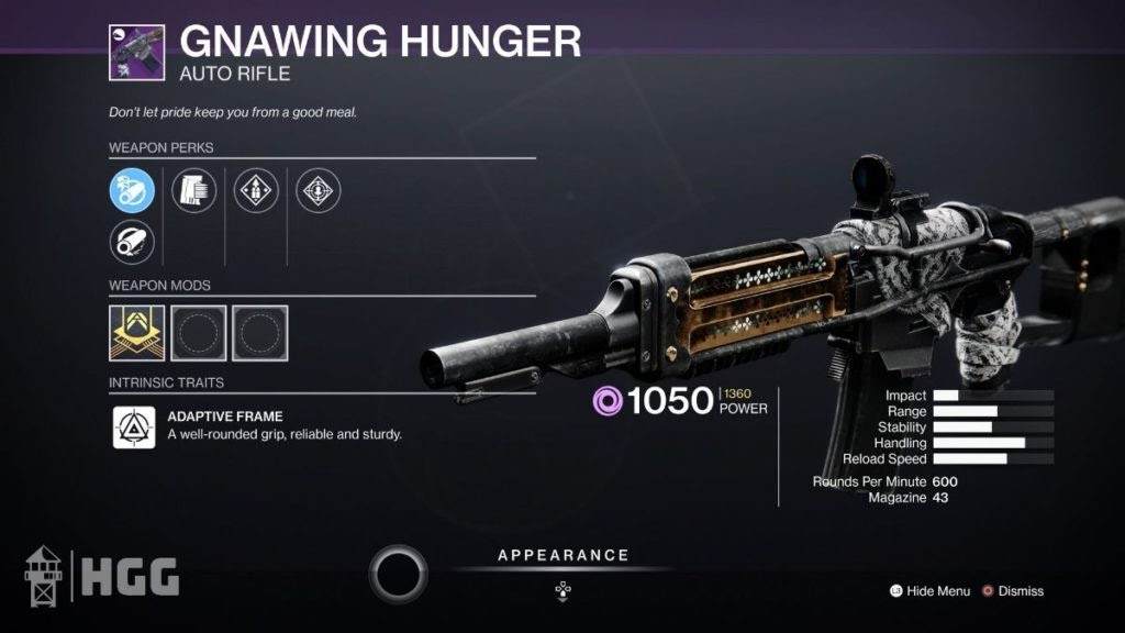 Gnawing Hunger- Thegamedial