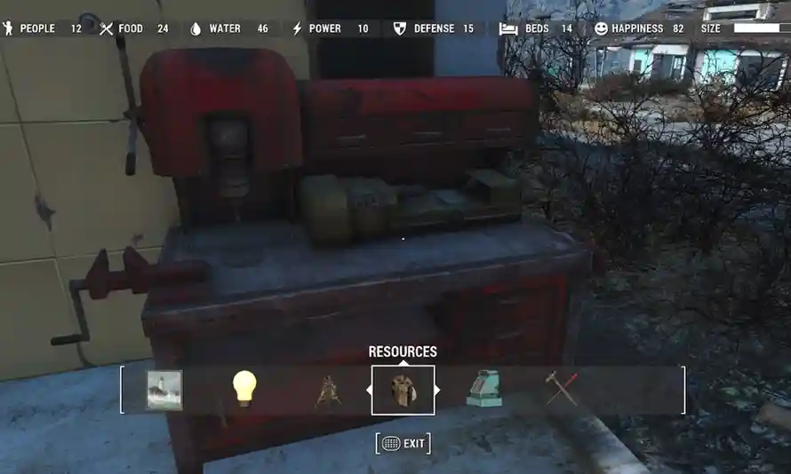 Fallout 4 build