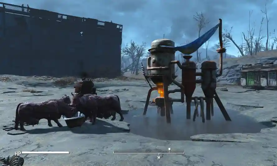 Fallout 4 build food and water