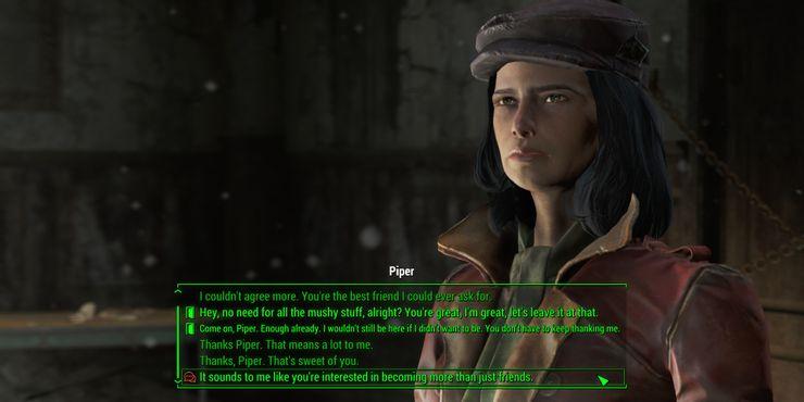 Full interface dialogue