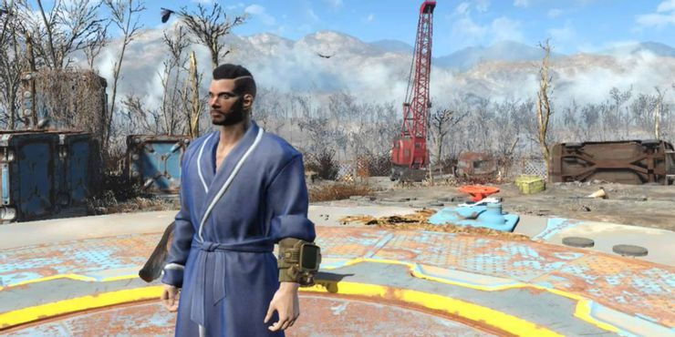 Naked Nomad Fallout 4