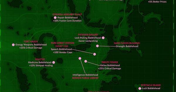 Fallout bobblehead locations