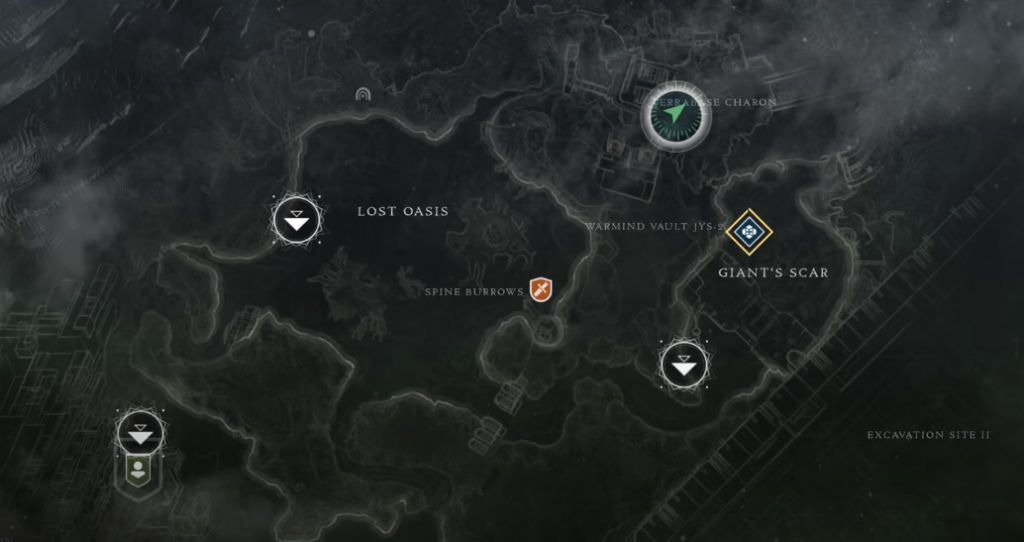 Cayde's Cache Locations