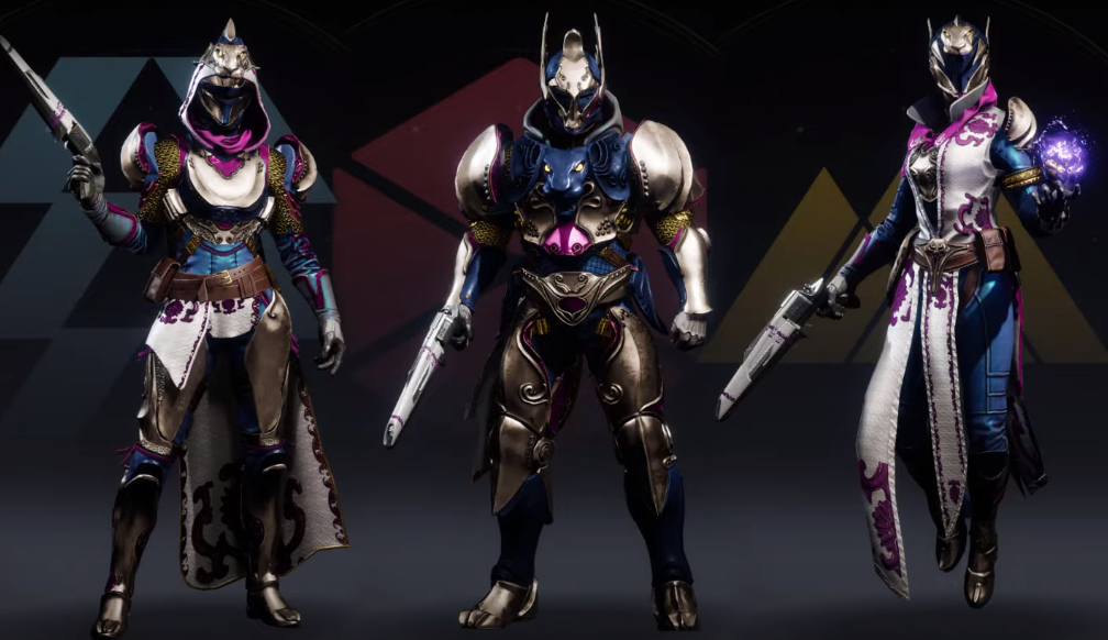 Destiny 2 Eververse Armor sets currently fill in as general decorations