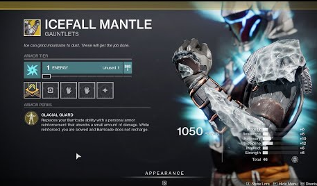 ICEFALL MANTLE