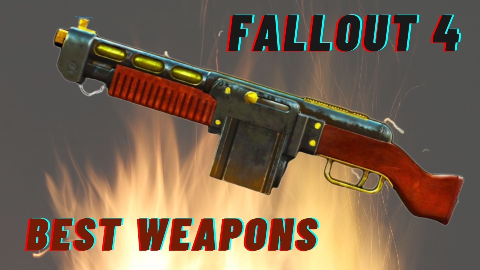 Best Fallout Weapons